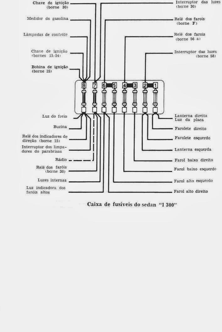 Esquema eletrico fusca Projetos para experimentar t